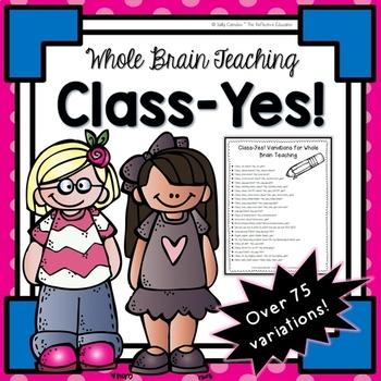 Whole Brain Teaching: Class-Yes!