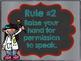 Whole Brain Teaching:  Classroom Rules (Art Themed)