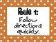 Whole Brain Teaching Classroom Rules - Dots