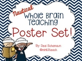 Whole Brain Teaching Classroom Rules Posters {Nautical}