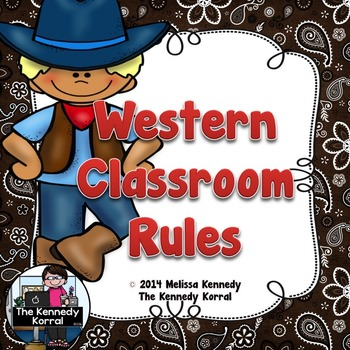 Classroom Rules: Western