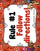 Classroom Rules: Best in the West Editable {Western Theme}