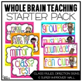 Whole Brain Teaching Classroom Starter Set