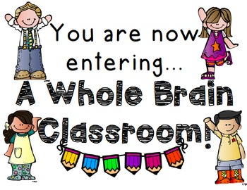 Whole Brain Teaching Classroom Welcome Sign