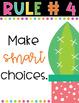 Cactus Classroom Theme: Editable Classroom Rules