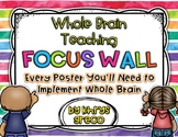 Whole Brain Teaching Focus Wall {Rules, Teaching Posters, and MORE} All Free!!!