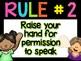 Whole Brain Teaching Focus Wall {Rules, Teaching Posters,