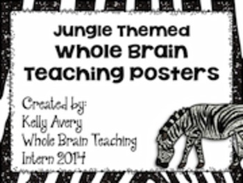Jungle Themed Whole Brain Teaching Bundle