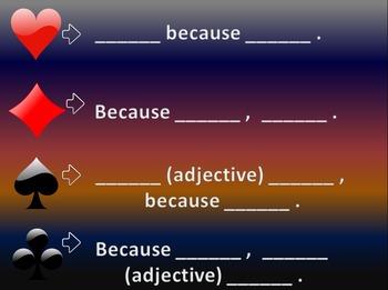 Whole Brain Teaching Nightmare Aces Vocabulary Game