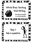 Whole Brain Teaching - Oral Writing Steps Poster Set