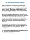 Whole Brain Teaching Parent Letter