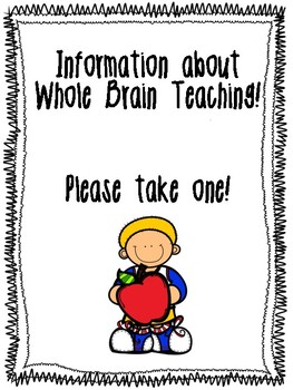 Whole Brain Teaching Parent Letter