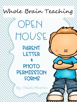Whole Brain Teaching Parent Letter & Open House Forms
