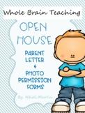 Whole Brain Teaching Parent Letter & Open House Forms