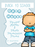 Back to School/Open House Social Media Permission (SPECIFIC & GENERAL)