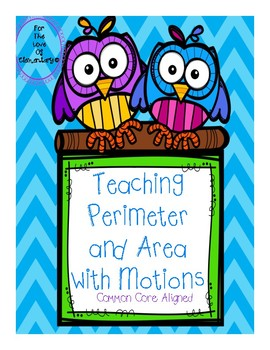 Teaching Perimeter and Area with hand gestures