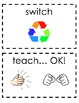 Whole Brain Teaching Picture Que Cards