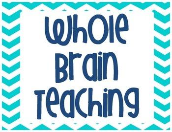 Whole Brain Teaching Poster