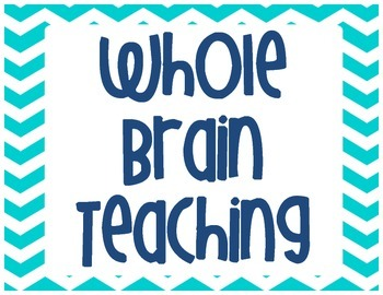 Whole Brain Teaching Poster