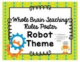 Whole Brain Teaching Poster **Robot Theme*
