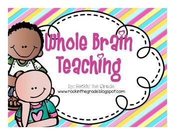 Free--Whole Brain Teaching Posters