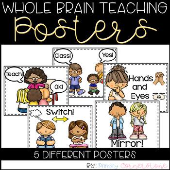 Whole Brain Teaching Callback Posters