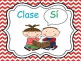 Whole Brain Teaching Posters (Spanish)