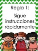 Whole Brain Teaching Posters in SPANISH AND ENGLISH