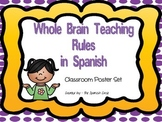 Whole Brain Teaching Posters in Spanish