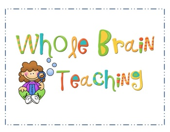 Whole Brain Teaching Posters with Children