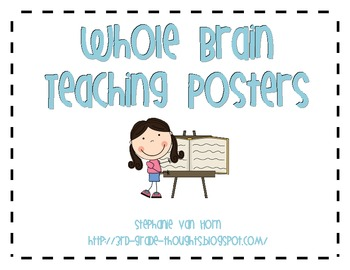 FREE Whole Brain Teaching Posters with Clip Art by 3rd Grade Thoughts