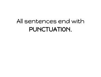 Whole Brain Teaching Power Pix Capitals & Punctuation