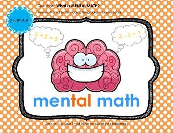Whole Brain Teaching WBT Power Pix - Common Core Math 2nd grade NBT Standard