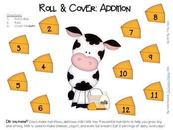 Roll and Cover - Cow