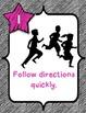Whole Brain Teaching Rule List (Black and pink theme)