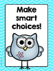 Whole Brain Teaching Rule Posters with Owls