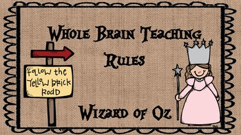 Whole Brain Teaching Rules