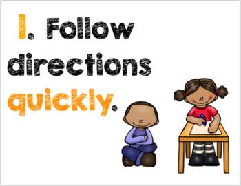 Whole Brain Teaching Rules - Multiple Options