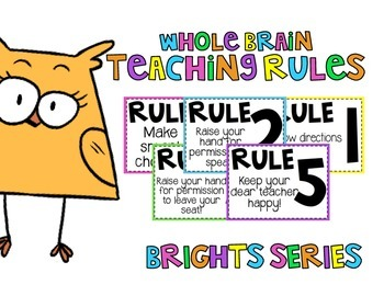 Whole Brain Teaching Rules | Brights