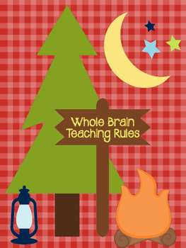 Whole Brain Teaching Rules: Camping Theme