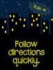 Whole Brain Teaching Rules: City at Night/ Superhero Theme