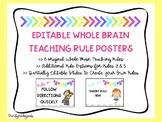 Whole Brain Teaching Rules - Editable Options!