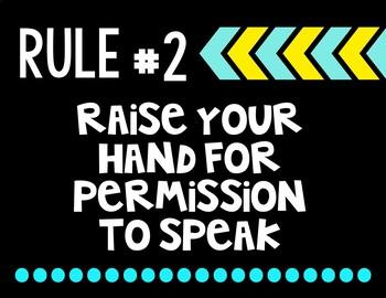 Whole Brain Teaching Rules FREEBIE!