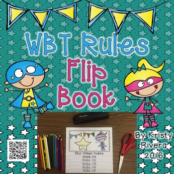 Whole Brain Teaching Rules Flip Book