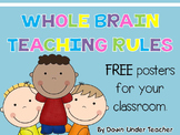 Whole Brain Teaching Rules Freebie