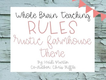 Whole Brain Teaching Rules (Includes NEW Rule #5)