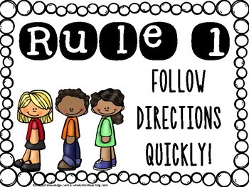 Whole Brain Teaching Rules (Includes the NEW Rule #5!)