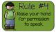 Chevron Whole Brain Teaching Rules - Melonheadz Edition