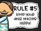Whole Brain Teaching Rules Posters