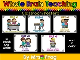Whole Brain Teaching: Rules Posters